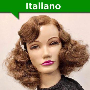 Masterclass in Italiano per acconciature su capello lungo